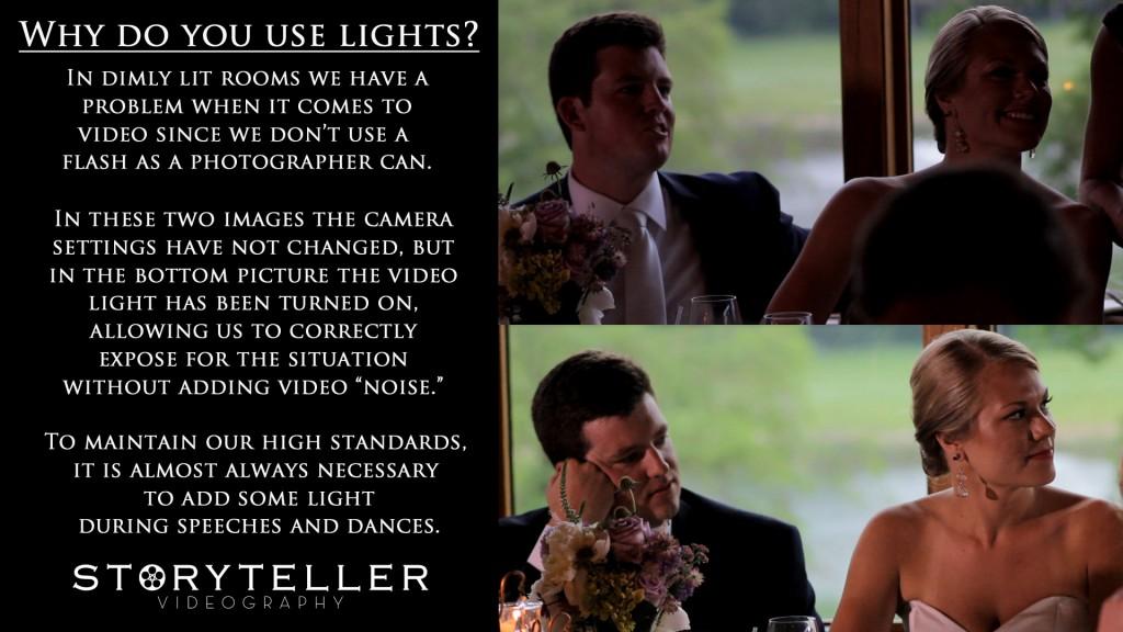 VIDEO LIGHT QUESTION